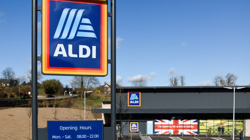 Aldi launches first checkout-free store