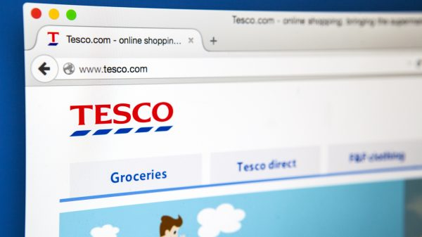 Tesco website up and running after suspected hack