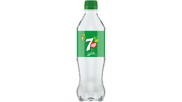 7UP switches to clear bottles
