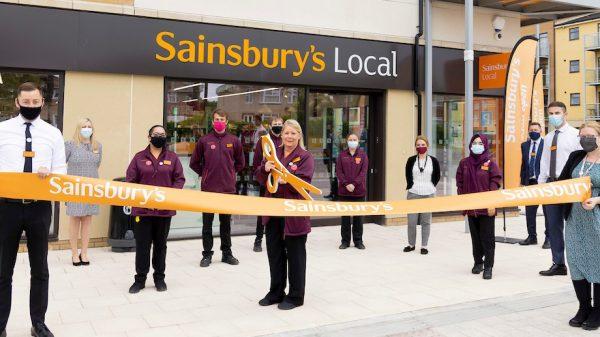 Sainsbury's unveils new Bristol Charlton Hayes Local store