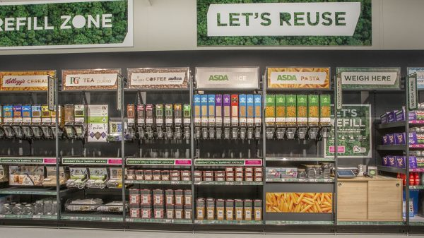 Asda unveils first Scottish refill store ahead of COP26