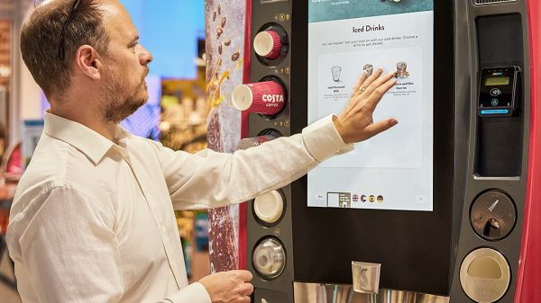 Costa Coffee trials new hot and cold Express machines