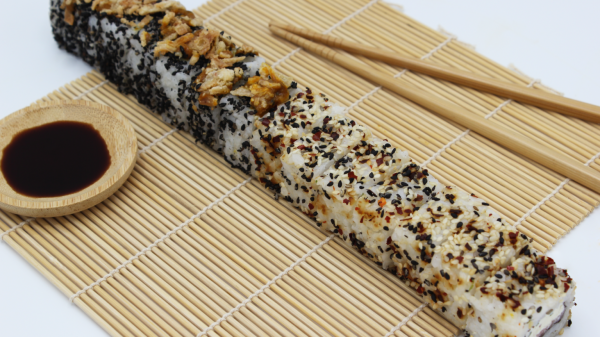 Aldi launches footlong sushi roll in celebration of Tokyo Olympics