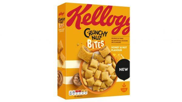 Kellogg's launches Crunchy Nut Bites
