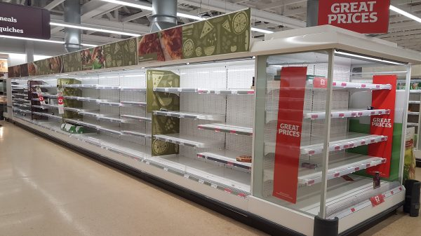 Unite calls for supermarkets to take responsibility for food shortages