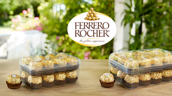 Ferrero Rocher rolls out new recyclable boxes