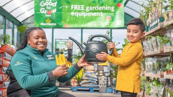 Morrisons donates gardening equipment to schools