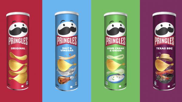 Pringles celebrates UK anniversary with mascot makeover