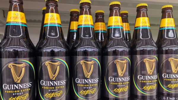 Guinness maker hails strong trading despite supply chain woes