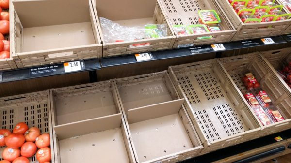 One in six unable to buy essential food items in past two weeks, ONS reveals