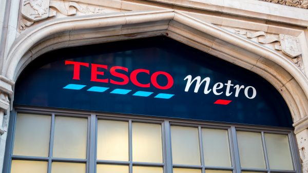 Tesco has started a programme to buy back shares with a value of up to £500 million.