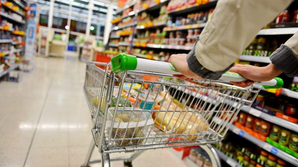 Food prices up for first time in six months