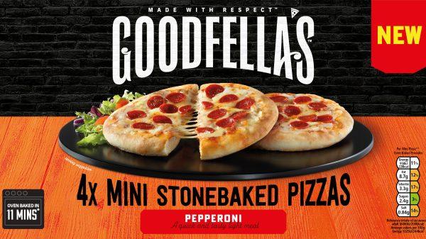 Goodfella's launches mini-stonebaked pizzas