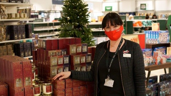 M&S has launched its recruitment drive for 12,000 seasonal workers to support its stores over Christmas.