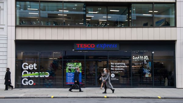 Tesco has unveiled its first checkout-free store in central London