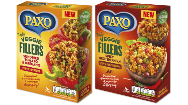 Premier Foods haslaunchedits newPaxoVeggie Fillers, expanding its selection of vegan offerings.