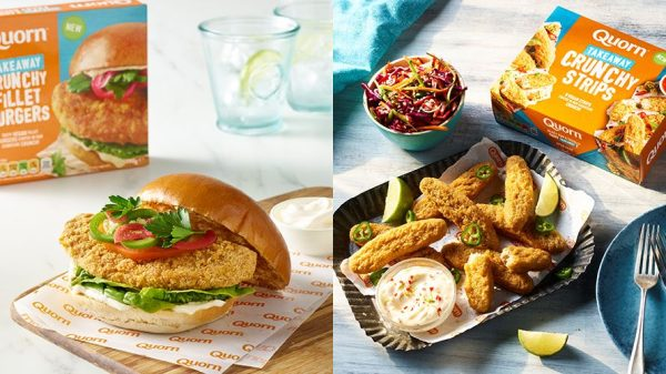 Quorn has launched a new 'fakeaway' range of vegan products, launching on November 1 2021.