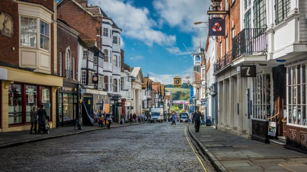 Cut business rates to save high street, urge 'red wall' Tories