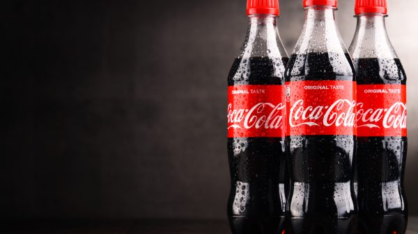 Coca-Colais set to trial a prototype of itsnew plant-based plastic bottle.