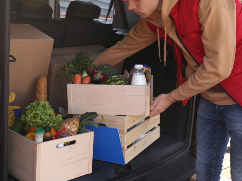 Demand for food delivery rose dramatically during the Covid-19 crisis and the service became a lifeline for the food industry.