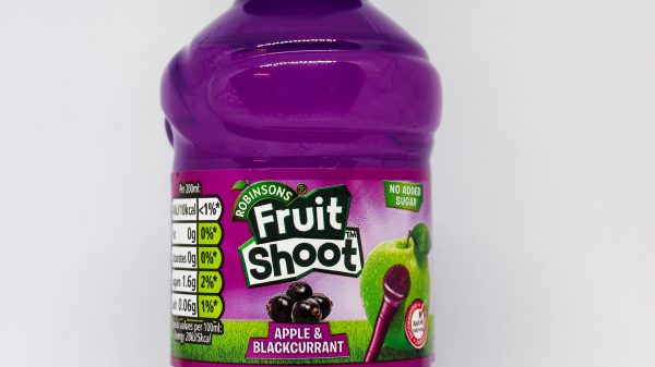 Fruit Shoot switches to 100% clear rPET