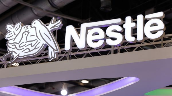 Nestlé shares jumped 4.1 per cent this morning to peak at CHF 117.12 after the multinational raised its organic growth guidance